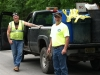 Our Department of Public Works guys on the job, taking care of Frenchtown!