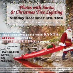 Santa is coming to Frenchtown on Sunday, Dec 4!