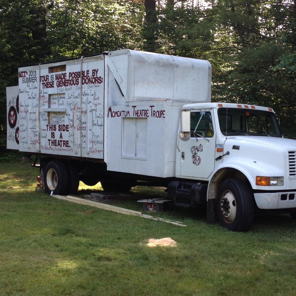 momentum theatre troupe truck
