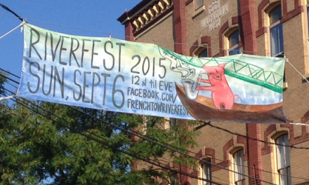 Frenchtown Riverfest on Sunday, Sept 6