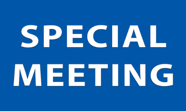 Special Borough Council Meeting, May 15th @7pm