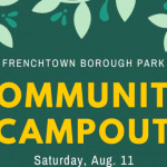 Frenchtown Borough Park Community Campout, August 11th