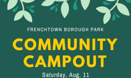 Frenchtown Borough Park Community Campout, August 11th