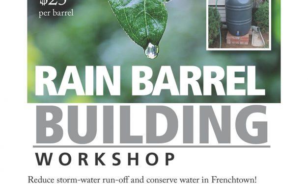 Rain Barrel Building Workshop June 30