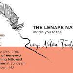Lenape Rising Nation Treaty Signing & Potluck, August 13th