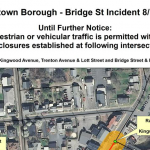 UPDATED: Frenchtown Borough Declares State of Emergency; Citizens Asked to Avoid Downtown Area