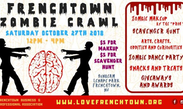 Frenchtown's Annual Zombie Crawl is Saturday, October 27th from 12-4pm