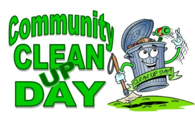 Community Clean-Up Day is October 20th!