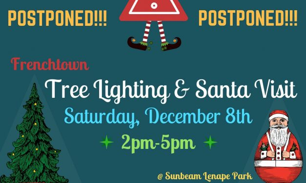 Tree Lighting & Santa Visit: Saturday, December 8th, 2pm-5pm