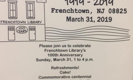 Frenchtown Library 100 Year Anniversary Celebration – March 31st