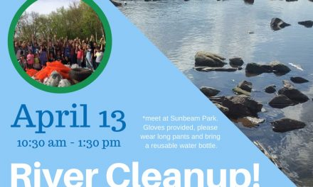 River Cleanup April 13