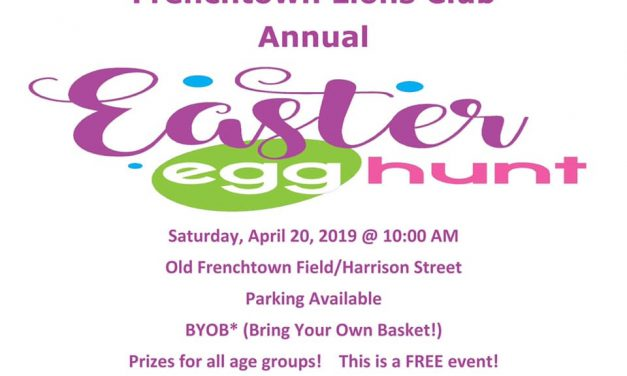 Frenchtown Lions Annual Easter Egg Hunt – April 20th at 10am, Old Frenchtown Field