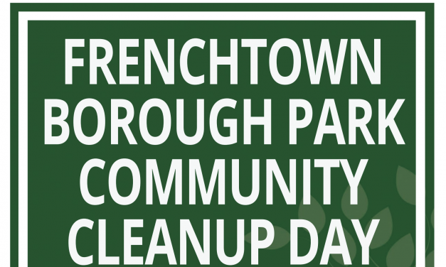 Frenchtown Borough Park Clean-Up Day – April 27th, 9am to 3pm