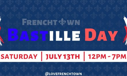 Frenchtown Bastille Day – July 13th, 12pm to 7pm