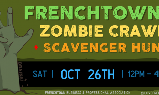 Zombies Take Over Frenchtown Oct 26th