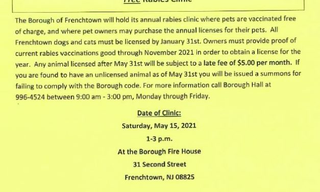 Free Rabies Clinic May 15